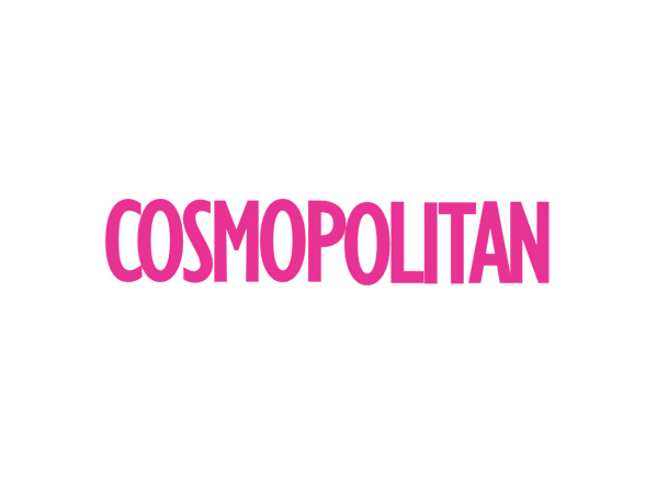 Pink logo cosmopolitan